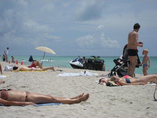 Seagull Hotel Miami South Beach: Beach