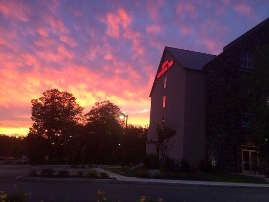 Hilton Garden Inn Preston Casino Area: Beautiful night