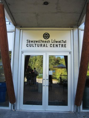Squamish Lil'wat Cultural Centre : The entrance