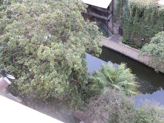 Drury Inn & Suites San Antonio Riverwalk : Riverwalk from room