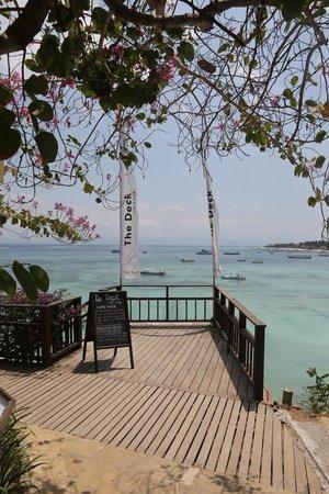 Batu Karang Lembongan Resort & Day Spa : View from the deck