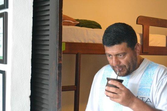 Che Lagarto Hostel Buzios : saliendo de la habitacion