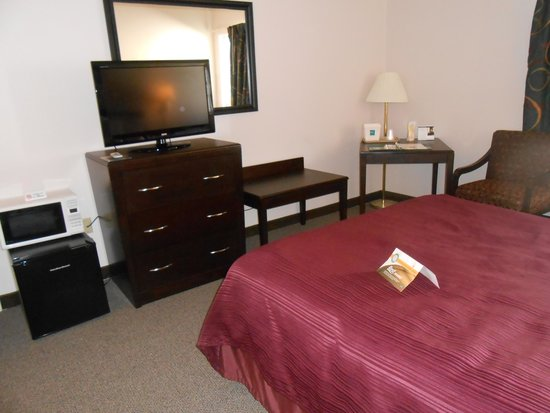Quality Inn & Suites: H/C Accessible room