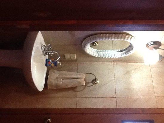 Villas Santo Niño: Bathroom Studio Yerbabuena