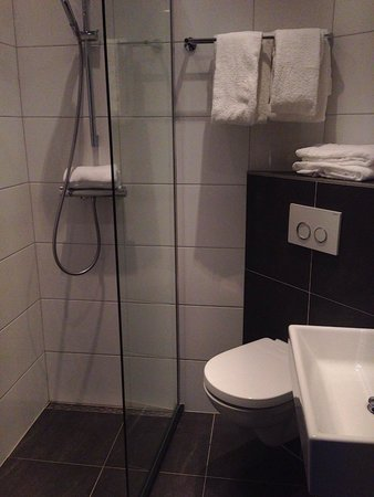 Hotel Cornelisz: Bathroom/wet room