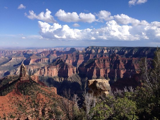 Grand Canyon North Rim : Viewpoints are worth the drive