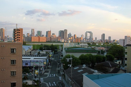 Shin Osaka Hotel : View from our room