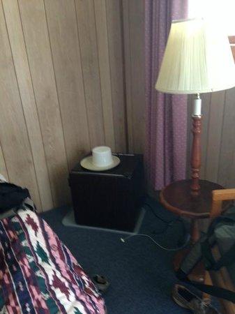 Red Ranch Motel: small fridge