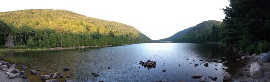 Park Loop Road : Pond at base of Cadillac Mountain