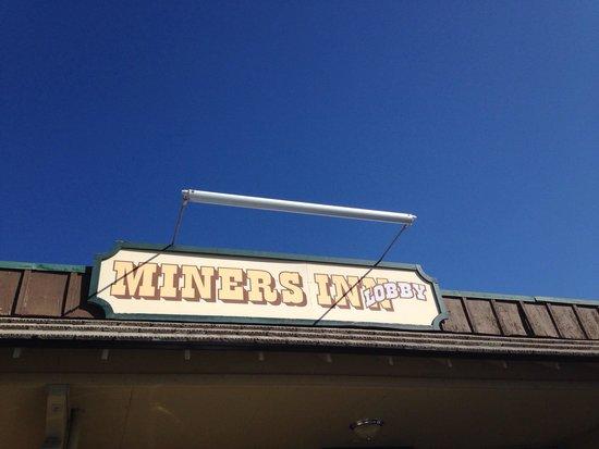 Miners Inn Motel: Insegna dell hotel
