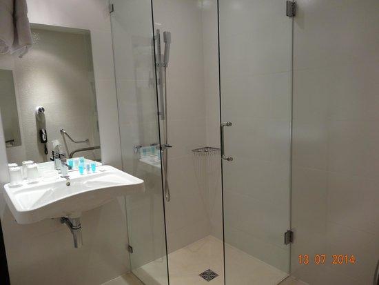 Hotel Albert 1er : Shower was very spacious