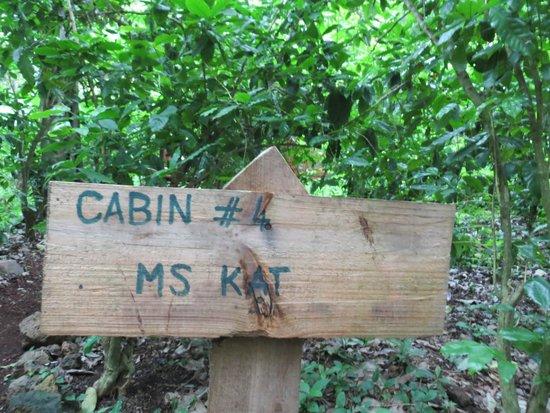 Mombacho Lodge: Ms Kat cabin
