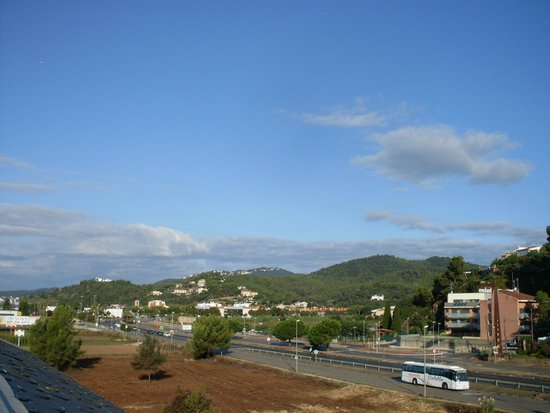 Santa Susanna Resort: Balcony View