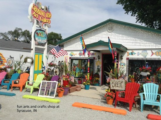 Creative Fish Art Gallery & ArtZie Workshop: A wealth of whimsy is found here!