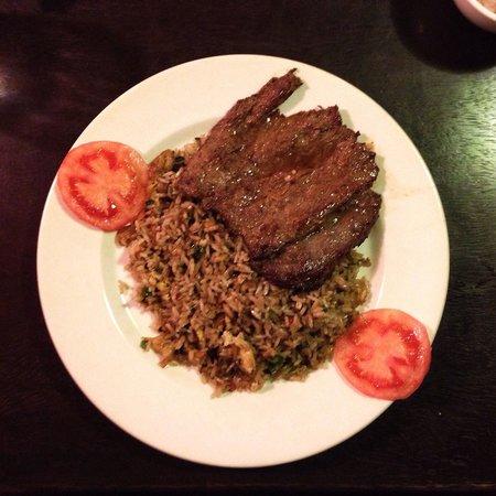 Restaurant Sumaqcha: Arroz chaufa con bistek ��