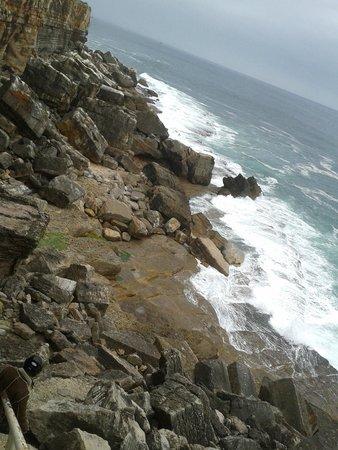 Boca do Inferno : Visão escadarias para o mar.