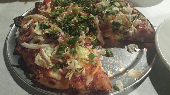 Crust: Thai pizza is amazing