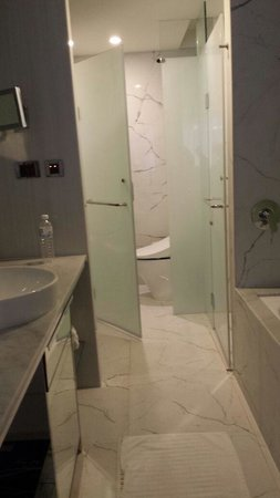 Chateau de Chine Hotel Kaohsiung: Spacious Bathroom