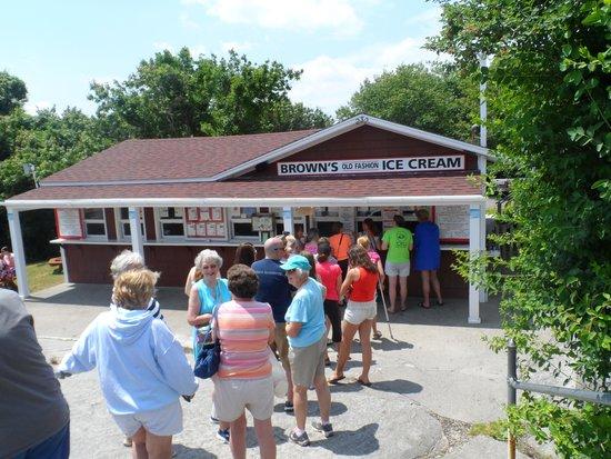 Union Bluff Hotel: Ice Cream