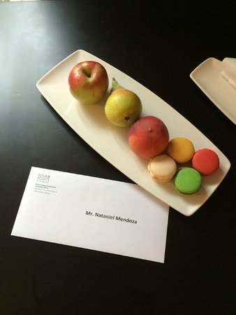 Four Points by Sheraton Ljubljana Mons : welcome gift