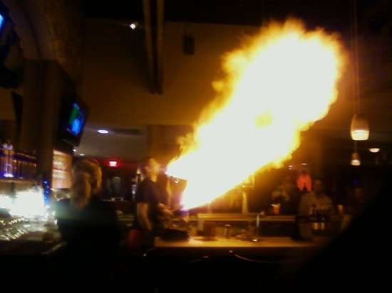Taverna Greek Grill : Fiery Breath