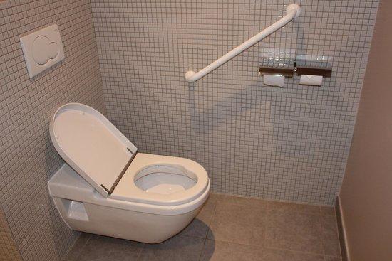 Hotel Mercure Bourg En Bresse: Chambre 251 - WC handi