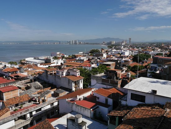 Hostal Vallarta Suites: view from the hotel´s terrasse