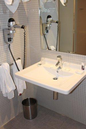 Hotel Mercure Bourg En Bresse: Chambre 251 - Lavabo handi