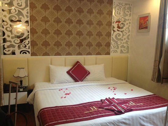 Hanoi Holiday Diamond Hotel: Our Room on the 2nd floor.