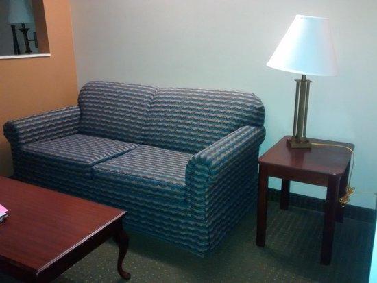 BEST WESTERN Alamo Suites: sitting room