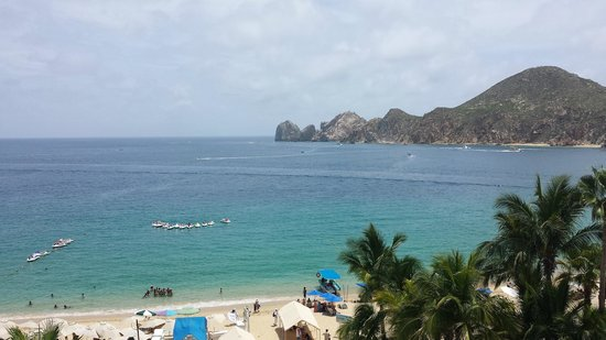 Cabo Villas Beach Resort: A view of Medano Beach from Suite Balcony