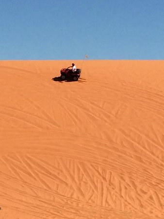 ATV and Jeep Adventure Tours: Sand dunes were awesome