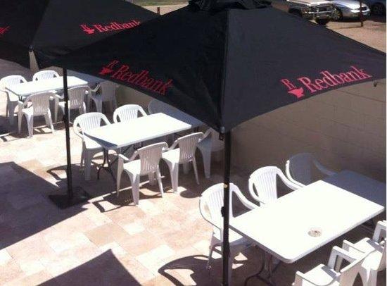 Georgina's Restaurant: The outside area
