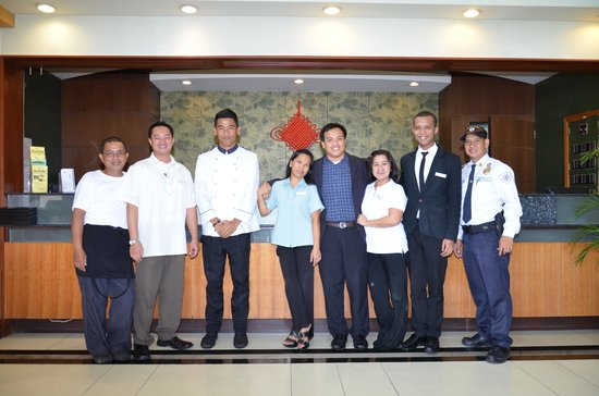 Subic International Hotel: Subic International Staff