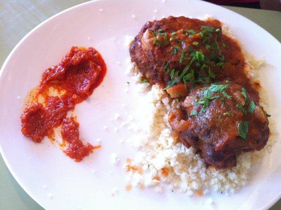 Hakovshim Bistro: Mafrum on couscous
