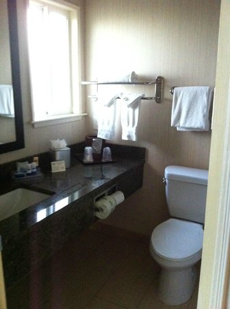 Best Western Plus Inn Of Ventura: The bathroom, nice and clean, don't forget to bring your own toothpaste!