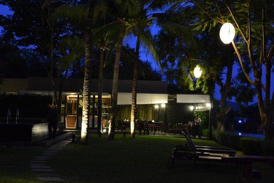 Inchantree Resort : terrazza sul fiume