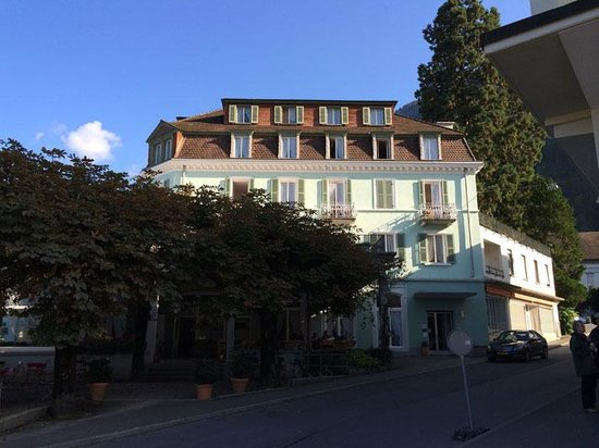 Hotel Terrasse Am See: Une bel emplacement !