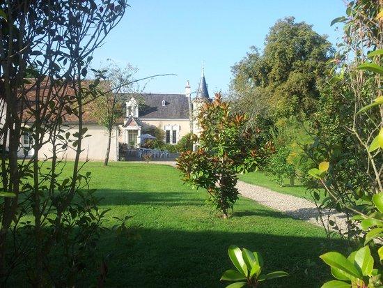 Saint-Jean-de-la-Motte, France : Le manoir