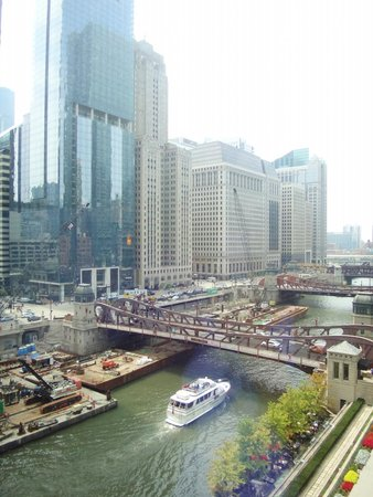 The Westin Chicago River North: view from 7th floor room