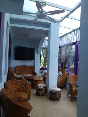 Dufa Luxury Manor Kenting: 餐廳一角