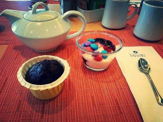 Isrotel Agamim: завтрак