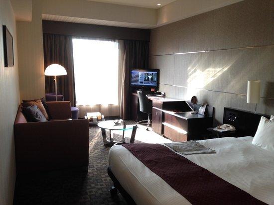Hotel Villa Fontaine Tokyo-Shiodome : Room on level 6