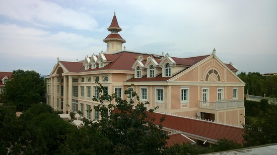 Gardaland Hotel: Sicht aus dem Zimmer