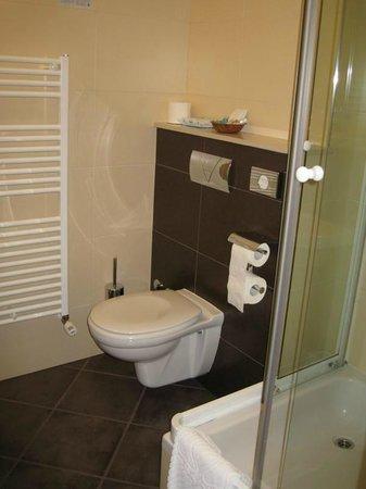 Hotel Plaza Omis : Bathroom in room 316