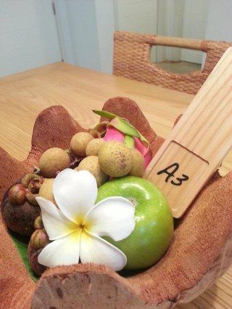 NishaVille Resort : Welcome fruit