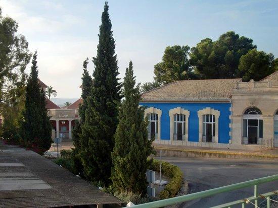 Balneario de Leana: alrededores