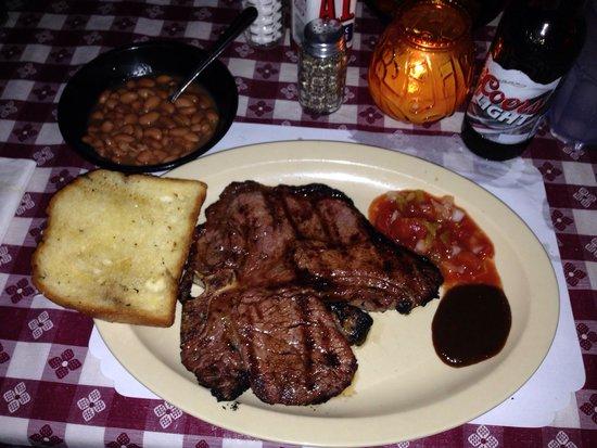 "Li'l Abner's Steakhouse: Ready to eat""👍👍😃😃"