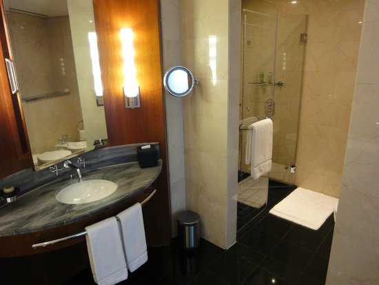 Jumeirah Emirates Towers: Bathroom With Shower