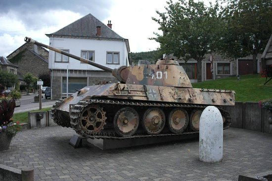 Battle of the Bulge Guided Tours : The Panther